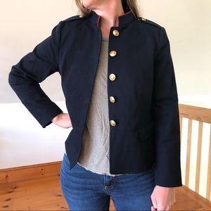 Talbots Sailor Style Navy Blue Blazer